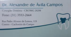 Alexandre de Ávila Campos